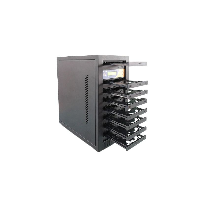 China bluk 1 to 5 Trays cd dvd duplication copys machine, commercial cd dvd burner tower, industrial cd dvd duplicator