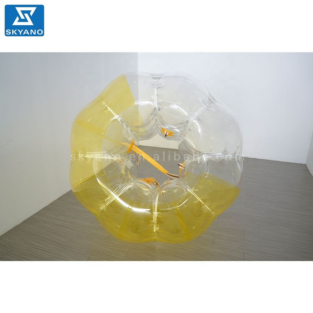 PVC or TPU Inflatable body bubble soccer bumper ball zorb ball for sale