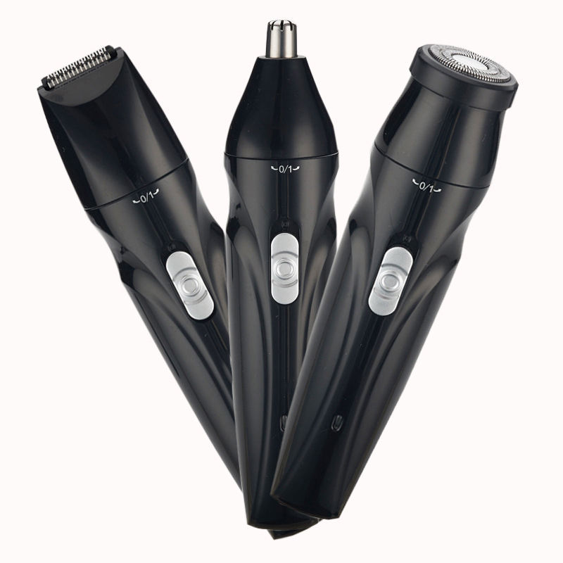 Multi-function Portable Battery Operated Electric Nose And Ear Hair Trimmer - Buy Nose And Ear Hair Trimmer