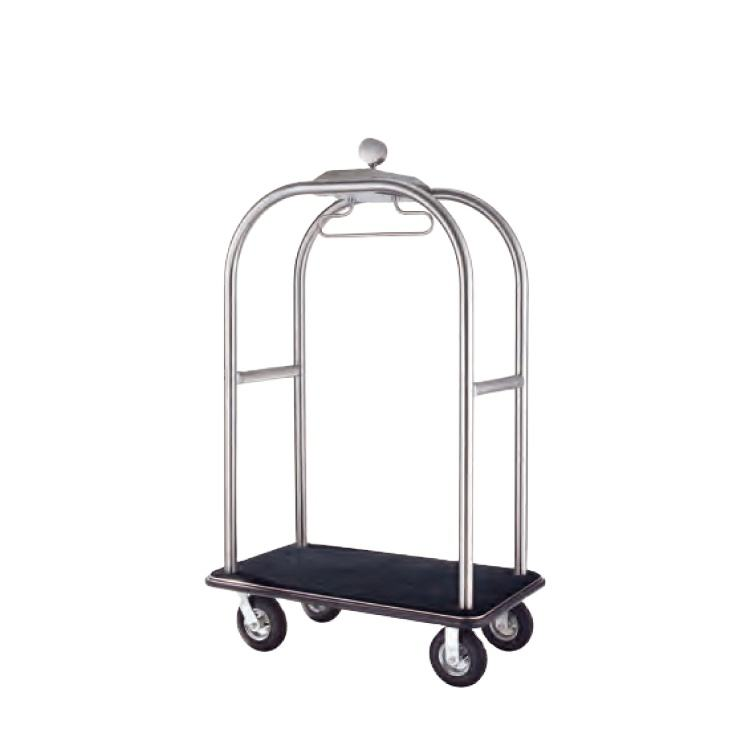Hot Selling China Vintage Bellman Hotel Trolley Luggage Cart