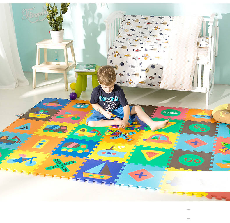 Colorful Design Baby Foam Floor Puzzle Eva Mat