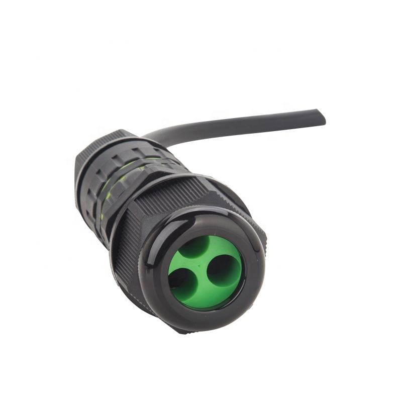 Outside Underwater Electrical Power Quick Easy Installation M25 IP68 Waterproof Terminal Connector