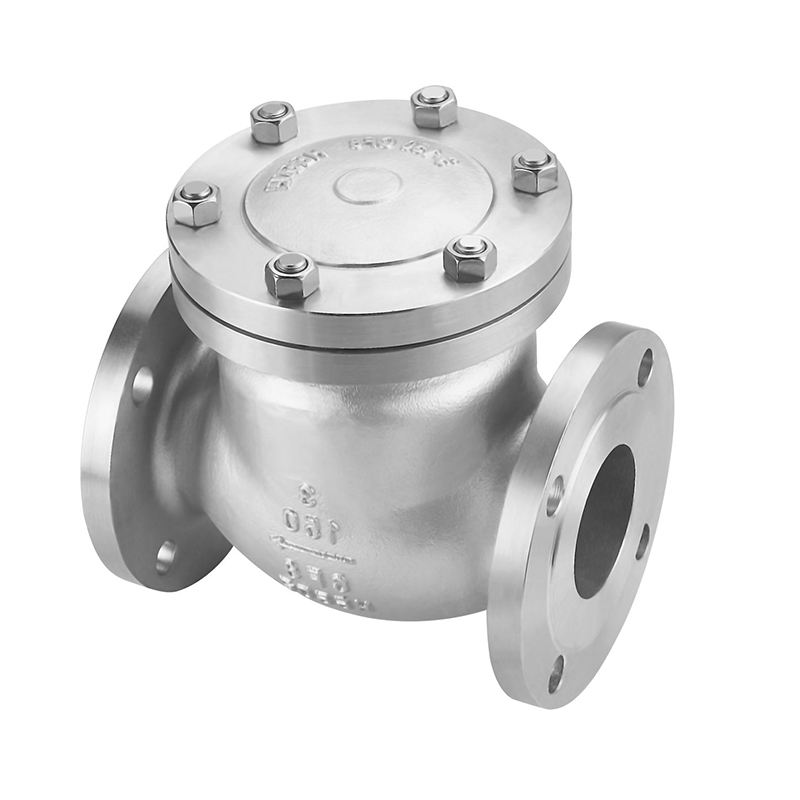 China supplier 2021 High Quality DN15 Flange Swing Check valve 150LB used for oil and gas