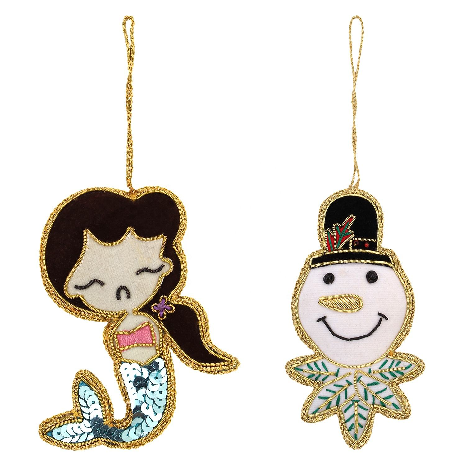 Mermaid Joker Shape Christmas Tree Decorations gift items Hanging Ornament