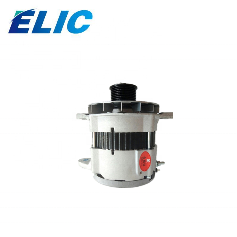 ELIC 24V 30A Auto Alternator for ISUZU 4BD1 4BD1T 4BG1 Ex120 Excavator 4bd1 Alternator Alt 766 622