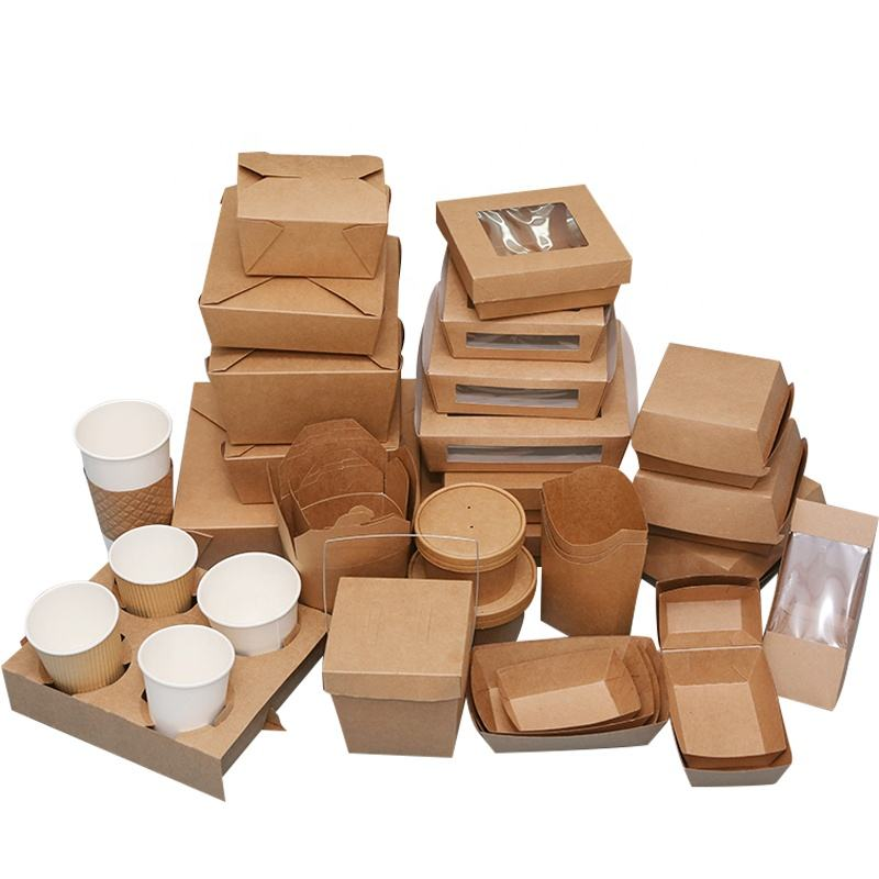 Hot Sale food packaging containers food boxes takeaway packaging