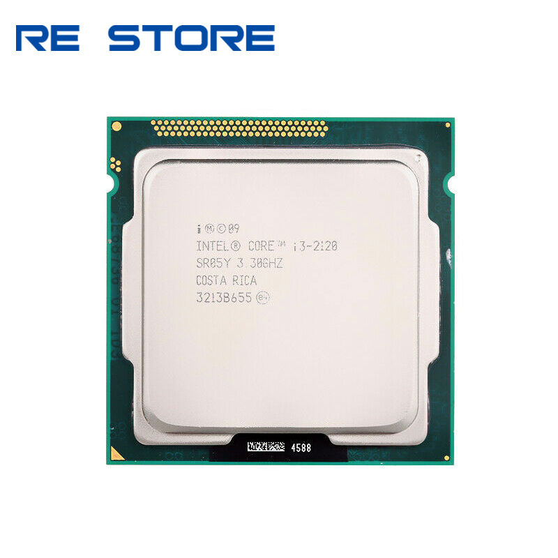 for intel Core I3 2120 Dual Core Processor 3.3Ghz Socket LGA1155 Desktop CPU sell i3 2125 2105