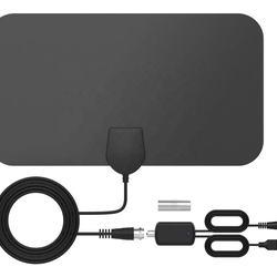 Mini TV Antenna HD Indoor Digital Antenna ATSC Signal Receiving HDTV Antenna UHF/VHF