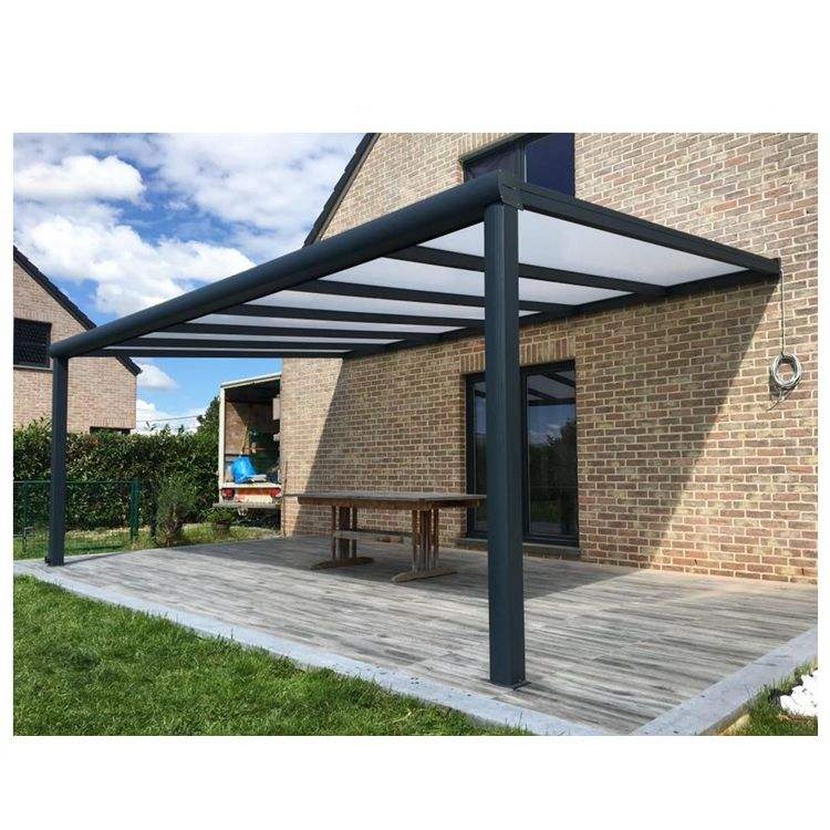 Aluminium Pergola outdoor Pergolas Bioclimatic Pergola with polycarbonate roof