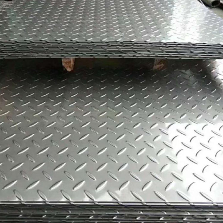 hot dipped galvanized chequer plate Steel Checkered Plate Diamond Plate