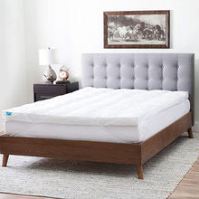 White Fabric Factory Sale Top Selling Polyester Bed Mattress Price Topper,Polyester Mattress Topper For Beds