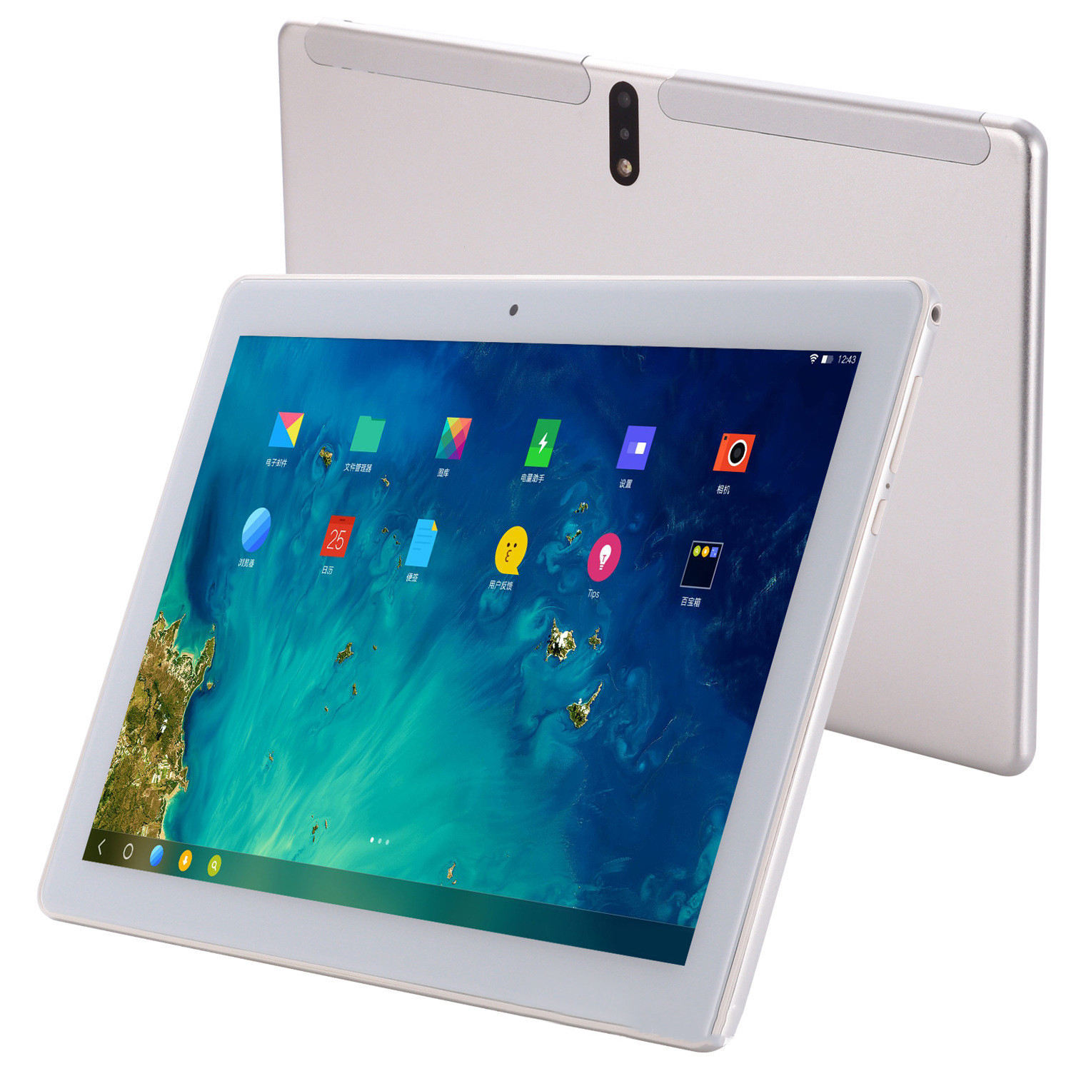 Tabletten 10 zoll android 64 GB/128 gb RAM 4G Lte Octa Core G + G 2,5 D touch tablet + pc