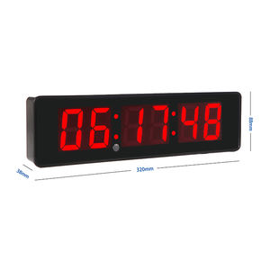 Digit Updown Teller Gym Fitness Interval Timer Multifunctionele Oefening Digitale Elektronische Countdown Timer