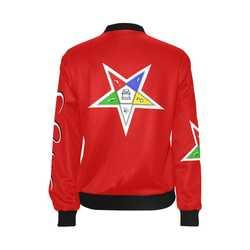 Jacket Red Order of Eastern Star Masonic regalia