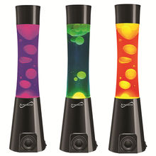 SuperSonic SC-1481BT Bluetooth Music Speakers: Rich Stereo Speakers with Built-in Lava Lamp