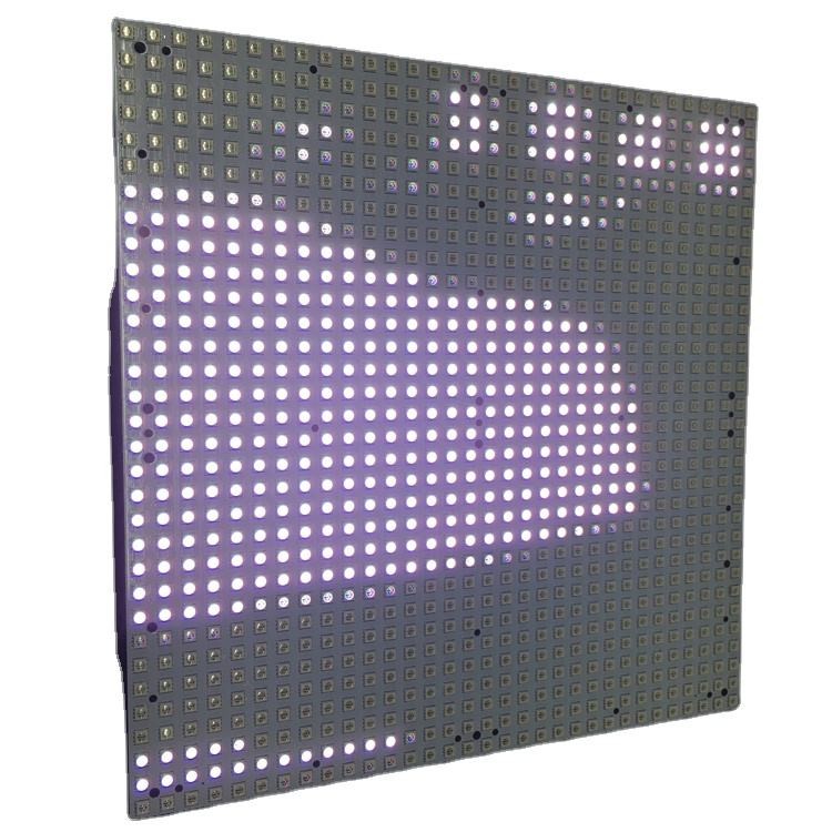 SMD 2835 LED Pixel <span class=keywords><strong>Panel</strong></span> <span class=keywords><strong>de</strong></span> <span class=keywords><strong>luz</strong></span> P6.6 pantalla intermitente LED módulo <span class=keywords><strong>de</strong></span> pantalla para caja <span class=keywords><strong>de</strong></span> <span class=keywords><strong>luz</strong></span>