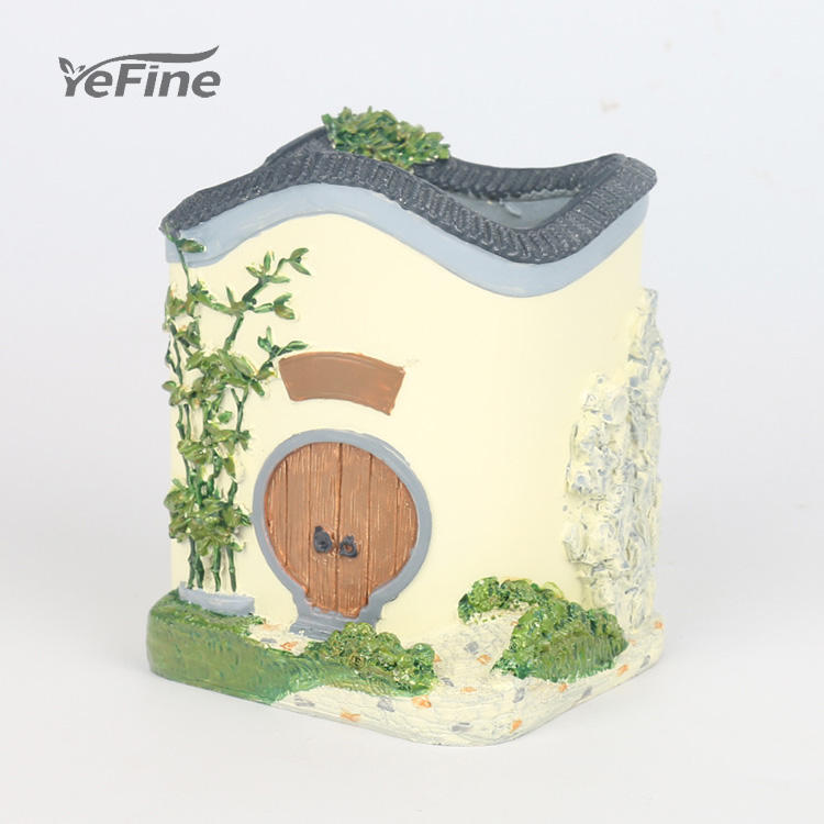 Desktop Large House-shaped Decoration Flower Pot