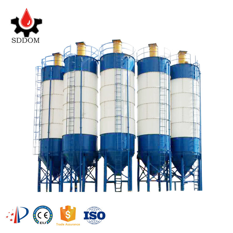 China SDDOM Brand 30 to 4000 tons Cement storage bin cement silo structure customized cement silo