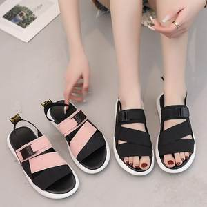 Xinzi Rain 2020 Latest Designs Simple Comfort Flat Sneakers Sports Sandals for Ladies Women Girls