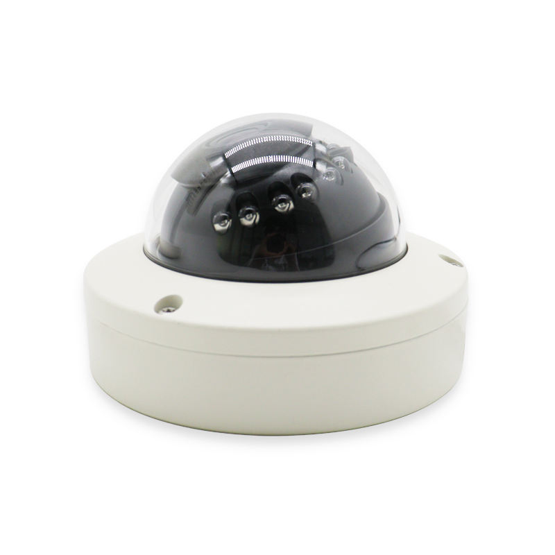 Onvif Indoor Infrared Roof Security Bus Cctv H.264 Poe Network Ip Dome Camera