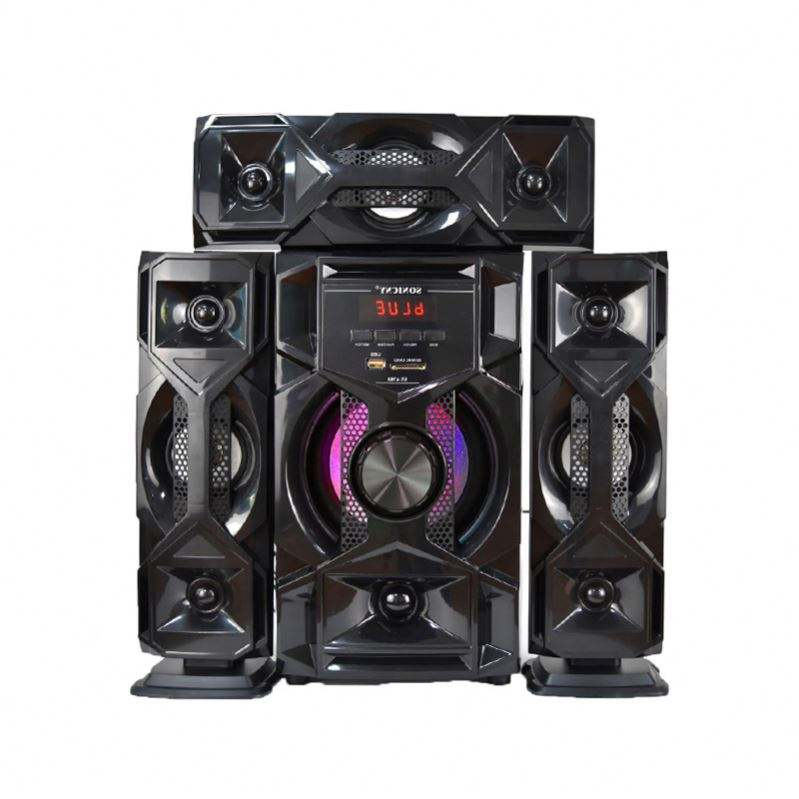 3.1 Line Array Woofer Home Theater Speaker Systeem Met Dvd/<span class=keywords><strong>Cd</strong></span>/Bt Surround Sound 6 Inch Subwoofer Doos ontwerp <span class=keywords><strong>Karaoke</strong></span>