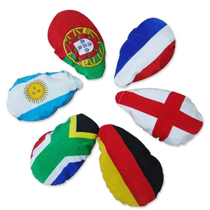 2020 National Team Portugal World Cup Soccer Football Polyester Car Mirror Cover