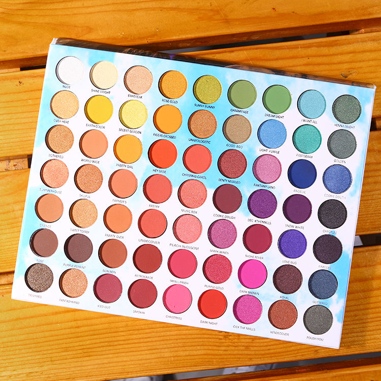AR01 Cosmetics Makeup Glitter Eyeshadow Palette Eye Shadow Brand Makeup Palettes