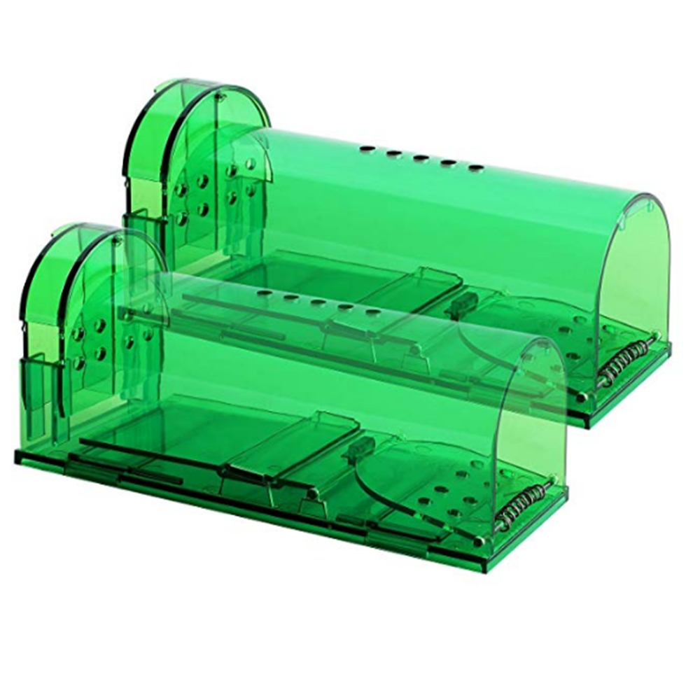 2019 Amazon Hot Sell Household Plastic Humane Live Catch Smart Mouse Rat Trap Mouse Trap Cage