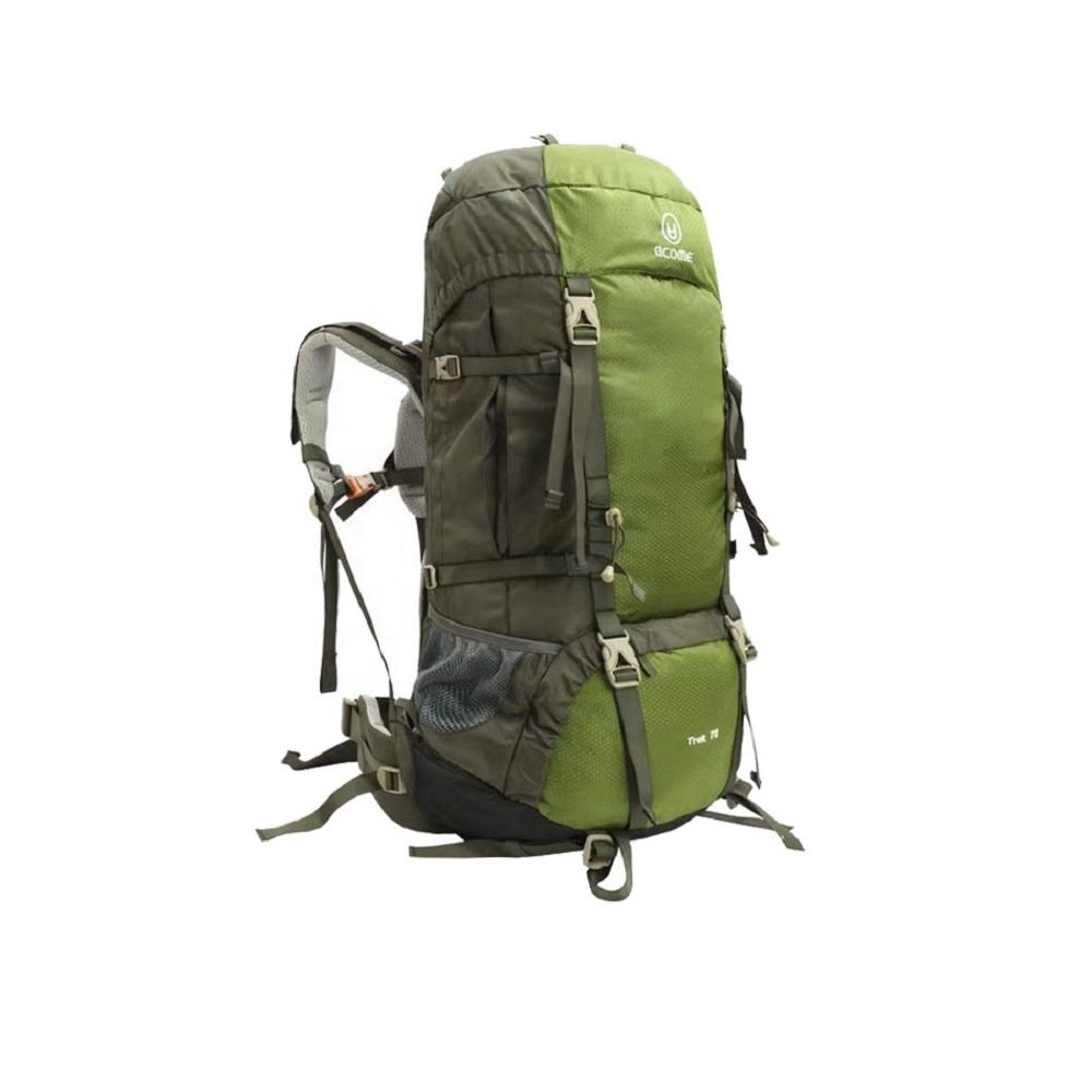 Hiking Backpack 70L Mountaineering Backpack with adjustable straps