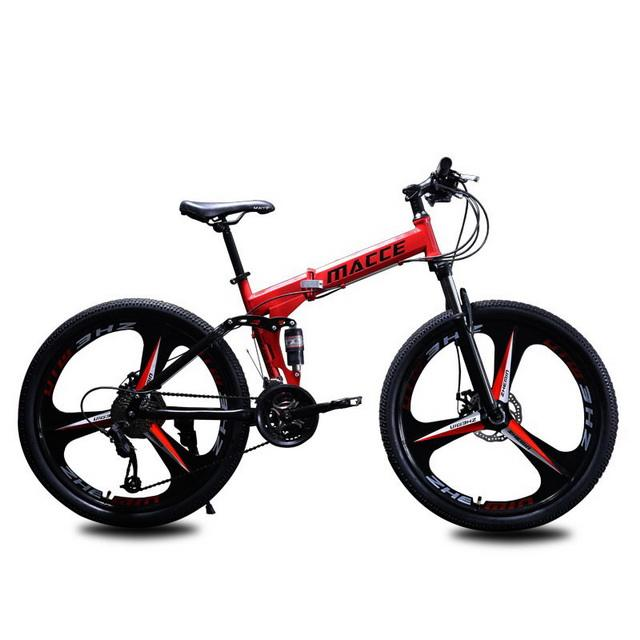 Real Stylish Mountain Bicycle Aluminum Alloy Frame Folded Fat Tire Folding Bicycle For Men