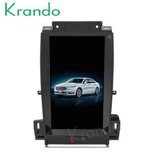 "Krando Android 6.0 13.3"" 2+32G RAM Tesla Vertical screen for Ford Taurus 2012-2016 car radio navigation entertainment system BT"