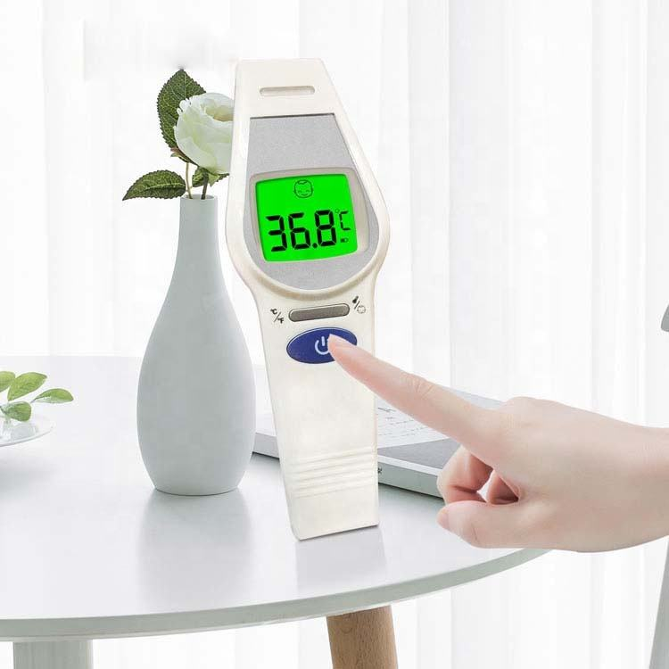 Best sale Automatic Home Digital Sphygmomanometers Accuracy large rectal LCD infrared forehead thermometer 2019 baby