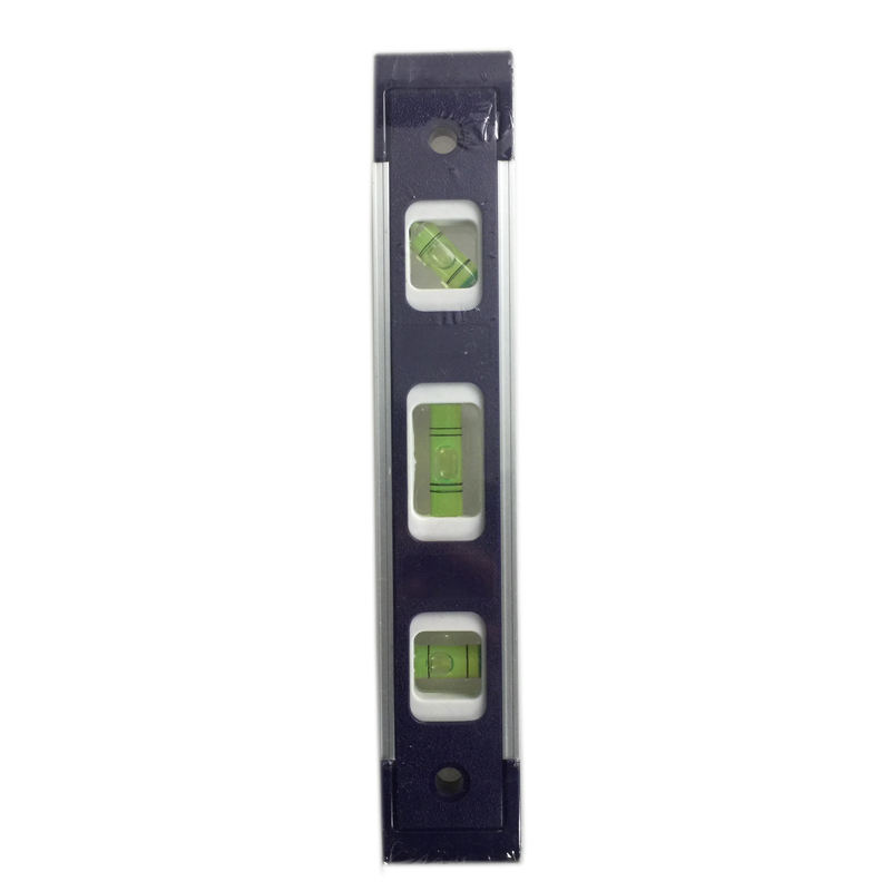 Meter Tools 9 Inch with 3 Different Bubbles Magnetic Level Torpedo Spirit Level