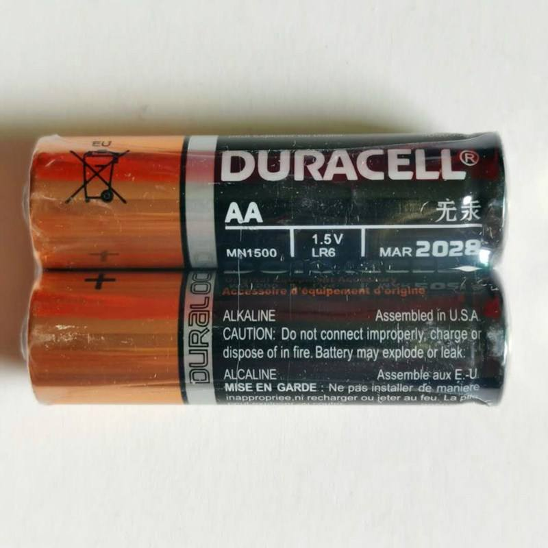 The Best Quality LR6 AA2 No.5 Battery Alkaline AA Alkaline Battery size aaa/lr03/am3 1.5v dry battery alkaline for DURACELL