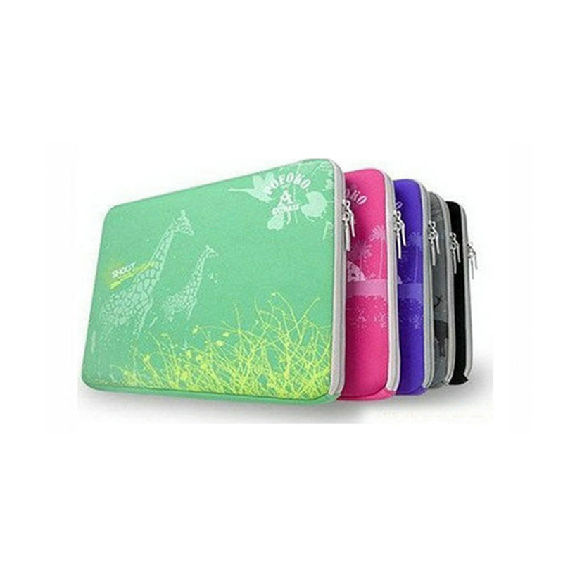 UOO China Customized Neoprene Shockproof Laptop Sleeve Case With Zipper