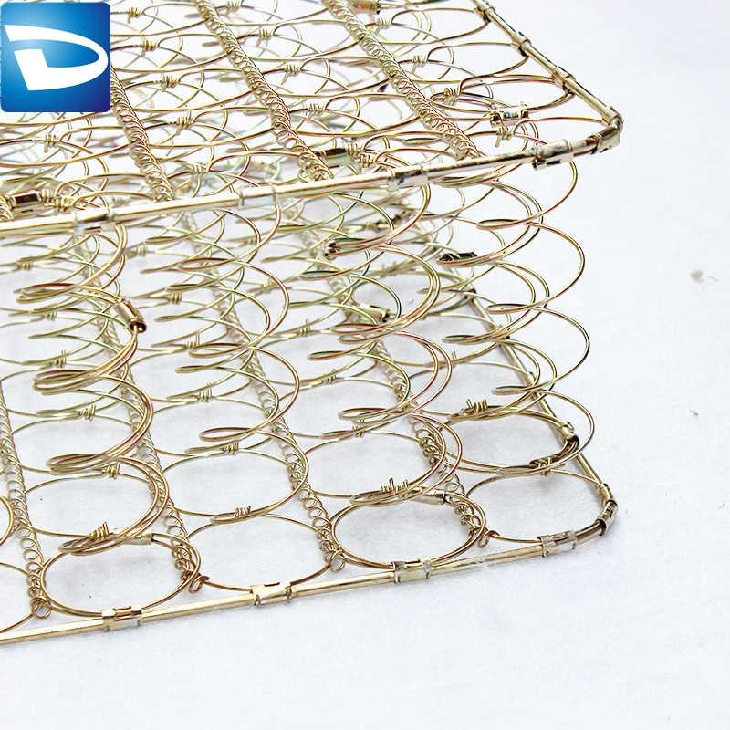 China mattress factory spiral spring net with volute wire spring LSU17