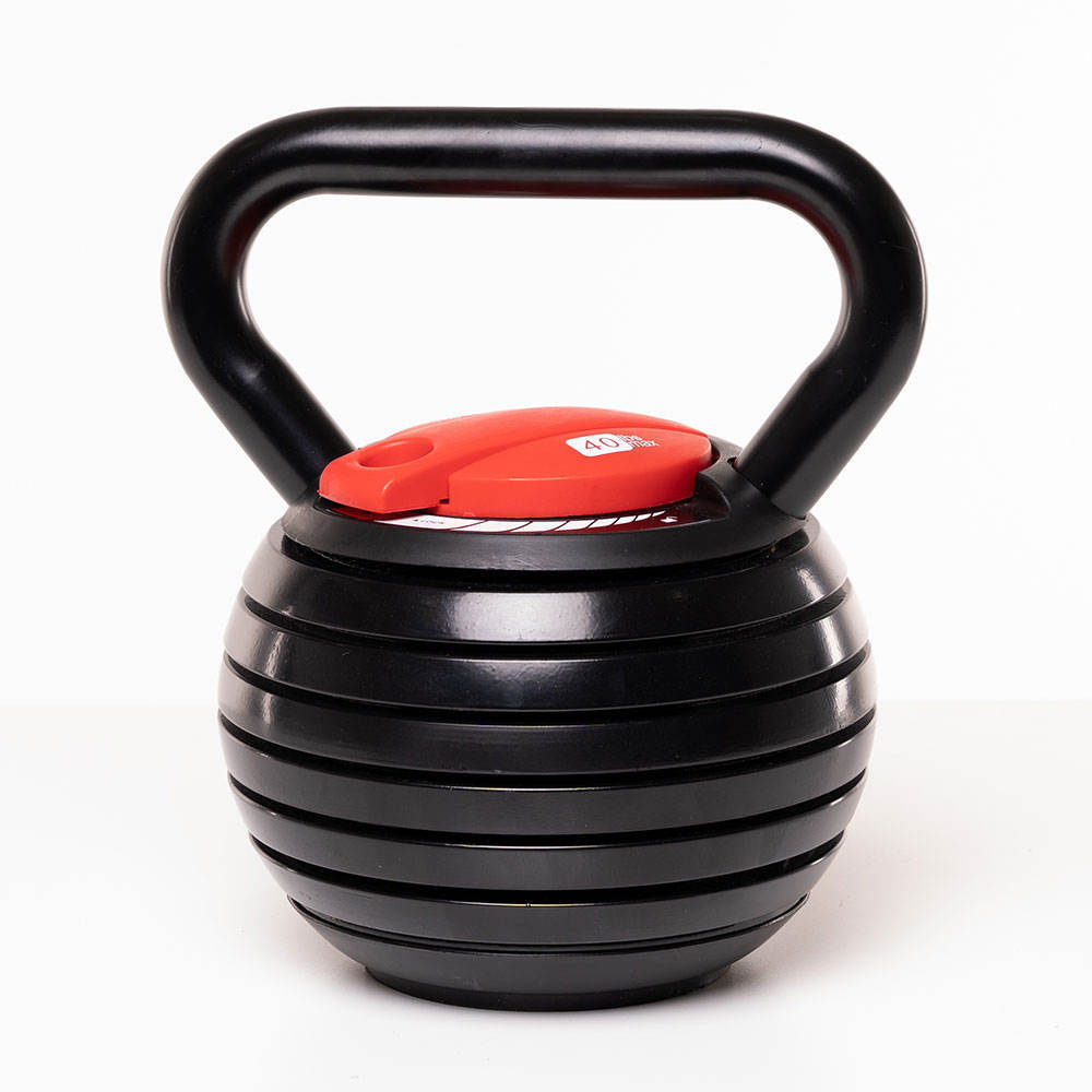 2021 YOOU New Arrival High Quality Customized Color 40lb Weight Adjustable Kettlebell 18kg