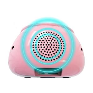 Harga Pabrik Portable Tahan Air Lucu Kartun 7 Warna Pat Light Wireless Speaker