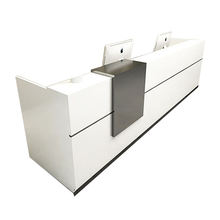 Custom Reception Desks Front Desk Reception White Reception Desk For Hotel Or Office