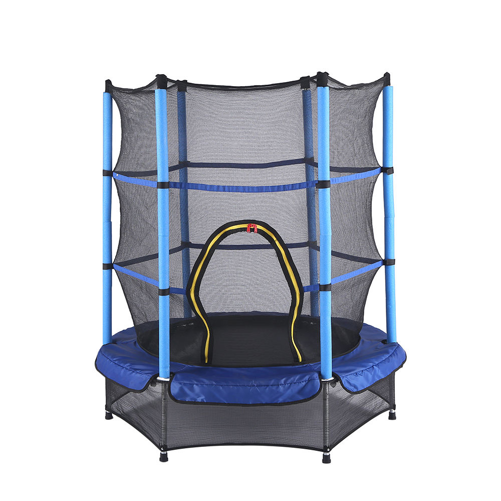 High Quality Elastic Bed 4.5ft Jumping Trampoline Park With Protective Net For Kids