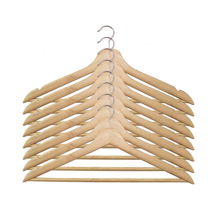 2021 Cheap Price Sale Natural Wooden Cloth Hangers