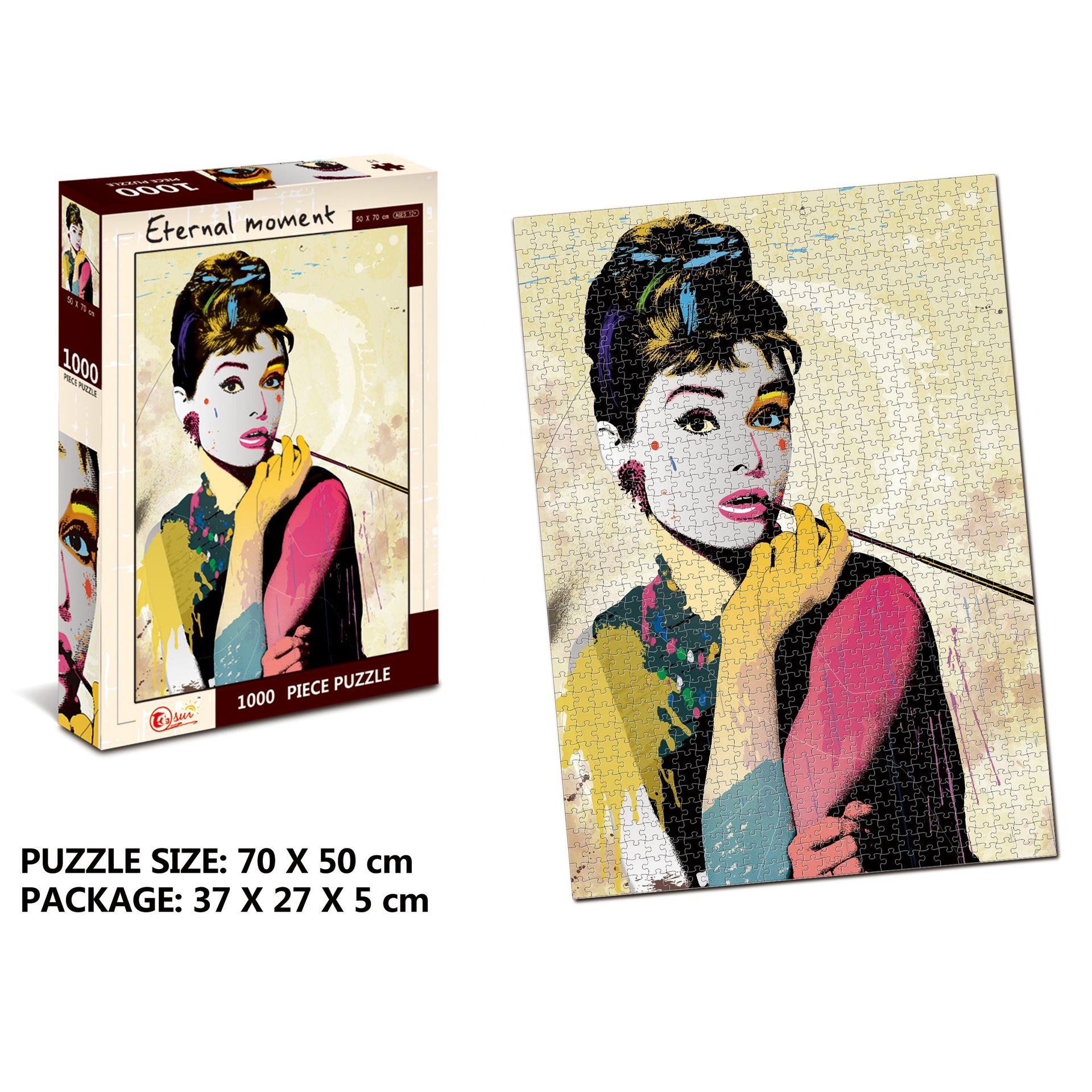 Mdf Puzzle Print Sublimation Blanks Puzzles 1000 Large Puzzle Paper Board Custom Sublimation Print Blank Educational Toys MDF Wooden Jigsaw Puzzle For Kid Family Event Gift