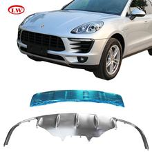 Auto accessories Stainless steel front and rear Skid plate for Porsche Macan 2014+ Bumper Plate