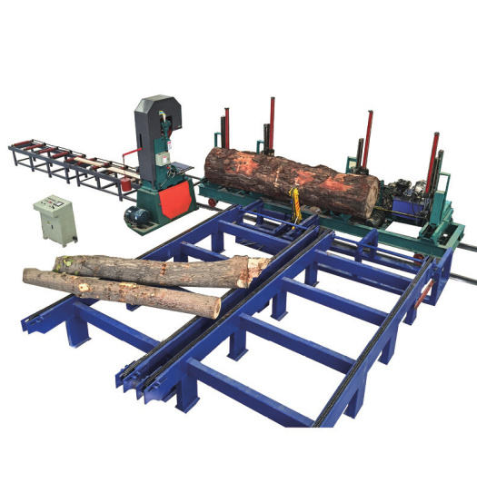 woodworking vertical band saw wood sawmill with log carriage