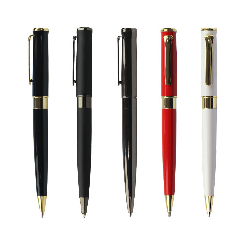 Valinpen brand promotion luxury gold metal ball point pen with custom logo