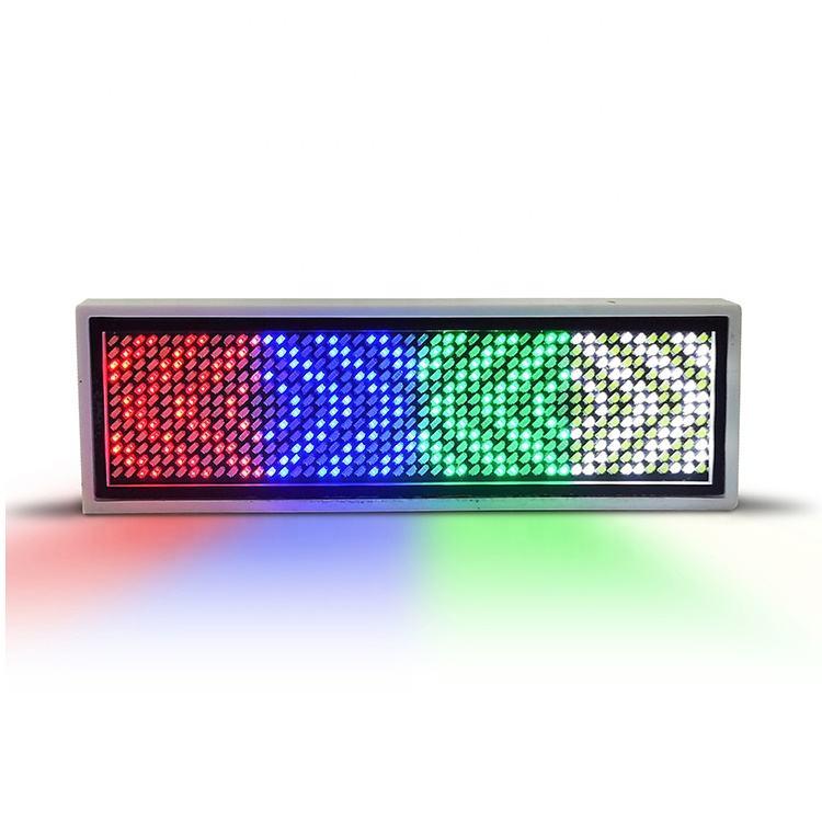 Изготовление на заказ номерной знак прокрутки (led) Личные Жетоны дисплей