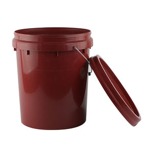 Cheap 5 gallon 20 liter pail drum plastic buckets with lids
