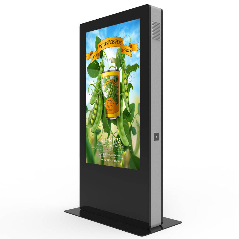 One-Stop Service [ Floor Stand Advertising ] Network Advertising Floor Stand Digital Signage Floor Stand Network Wifi Lcd Advertising Display Waterproof Outdoor Kiosk Screen Standalone Digital Signage