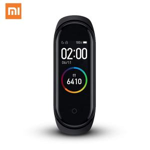 Original Xiaomi Mi Band 4 Smartwatch Fitness Tracker BT 5.0 AI Heart Rate Bracelet Touch Color Screen Wristband Mi 4 Band