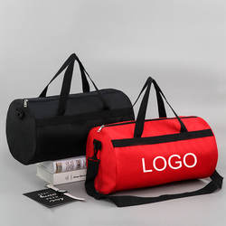 Custom Logo Men Travel Duffel Fitness Sports Bag Waterproof